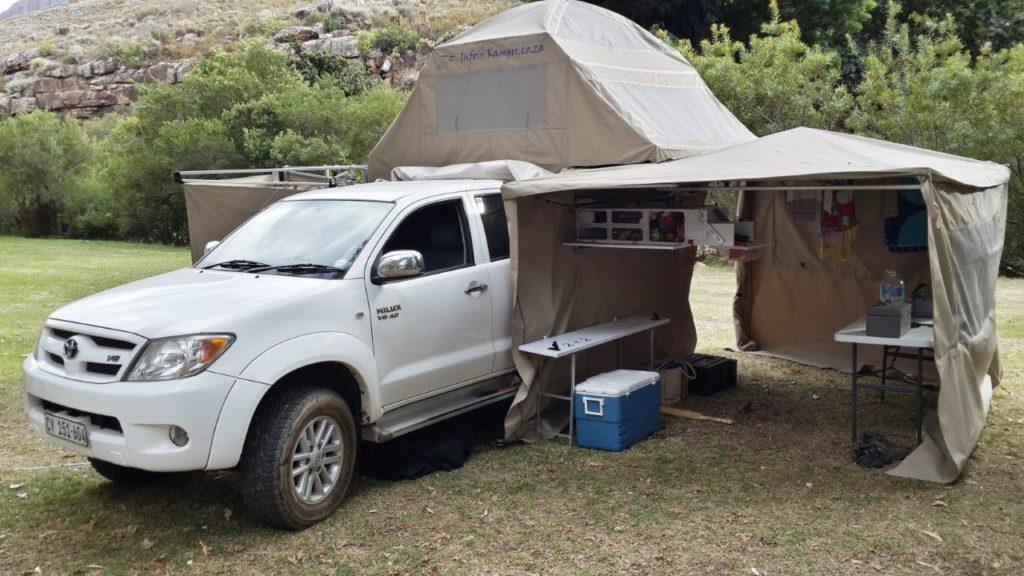 Ripstop roof top tent