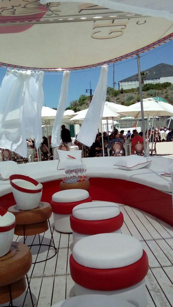 Marine vinyl seating